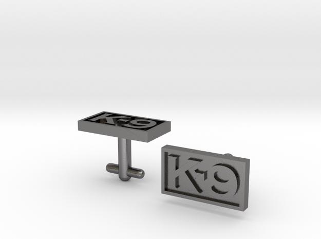 K-9 Cufflinks 3d printed