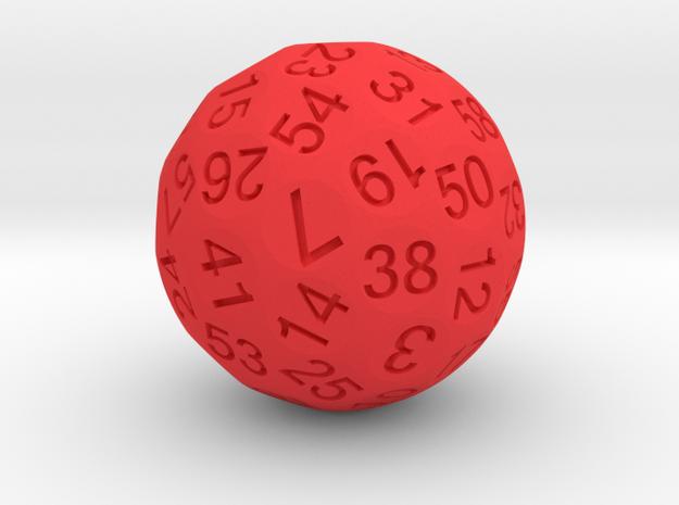 Truncated Sphere D60 3d printed