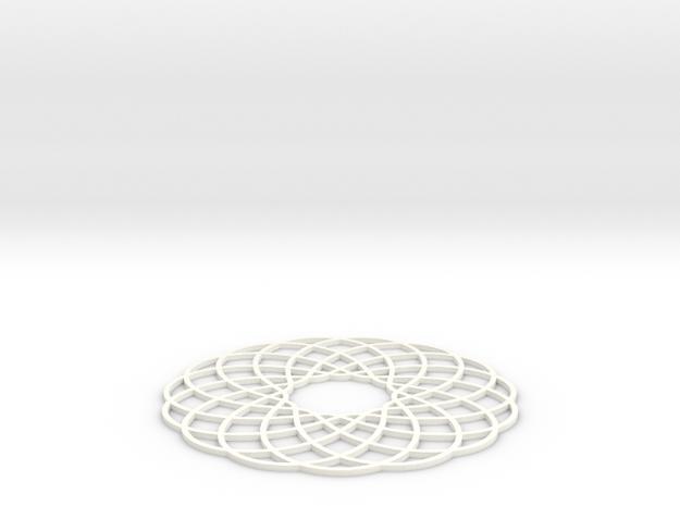 Spirograph Coaster