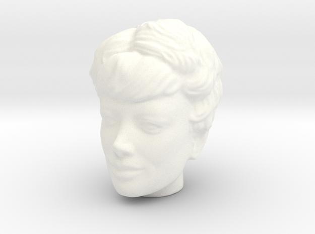 Lost in Space Maureen Robinson 1:9 Trendmasters in White Processed Versatile Plastic