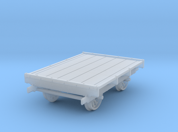 Sn3 Scale Sheffield No 32 Narrow Gauge Pushcar in Smooth Fine Detail Plastic