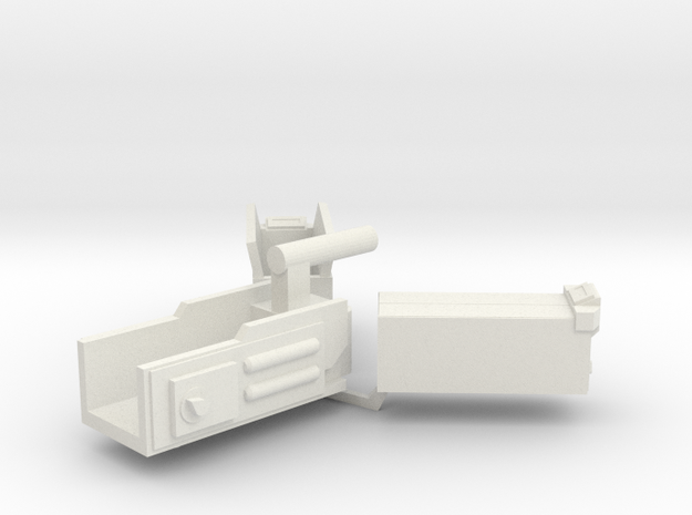 Ghost Trap Set (Updated) in White Natural Versatile Plastic