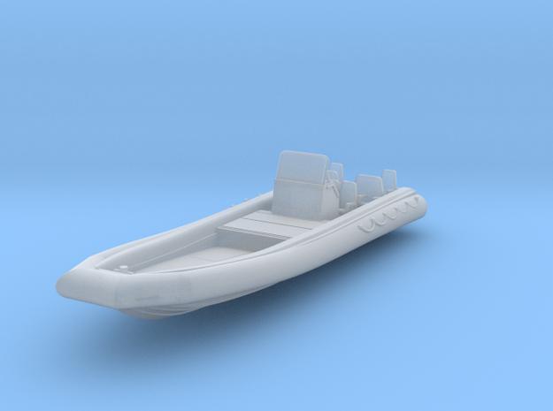 1/72 RHIB 11 meter rib boat in Smooth Fine Detail Plastic