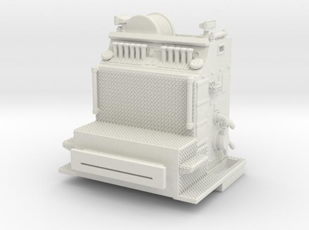 1/64 KME Top Mount Pump V2 in White Natural Versatile Plastic