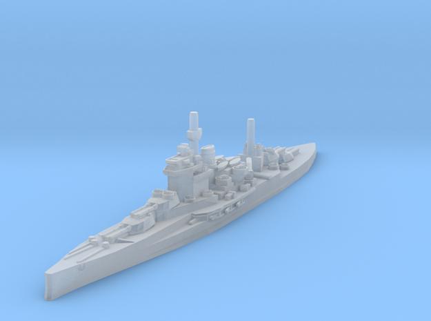 HMS Warspite 1/2400 in Smooth Fine Detail Plastic