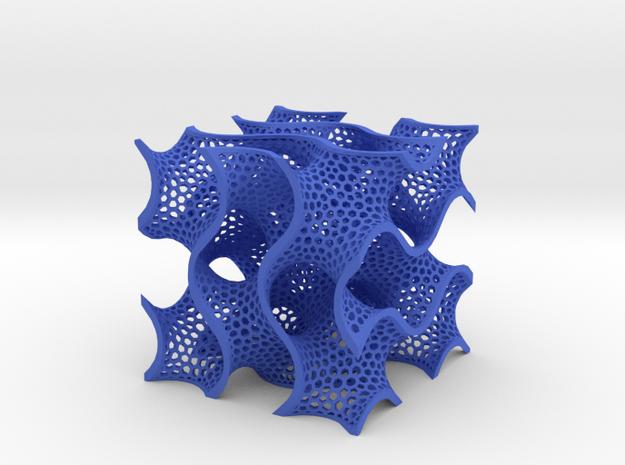 Gyroid 9cm 3d printed