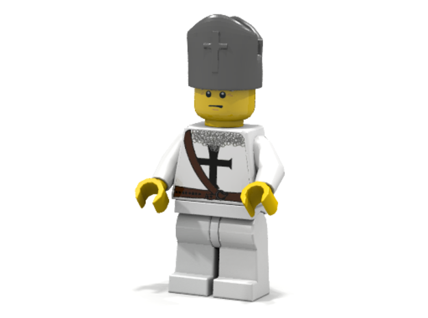 Bishop in White Strong & Flexible Polished