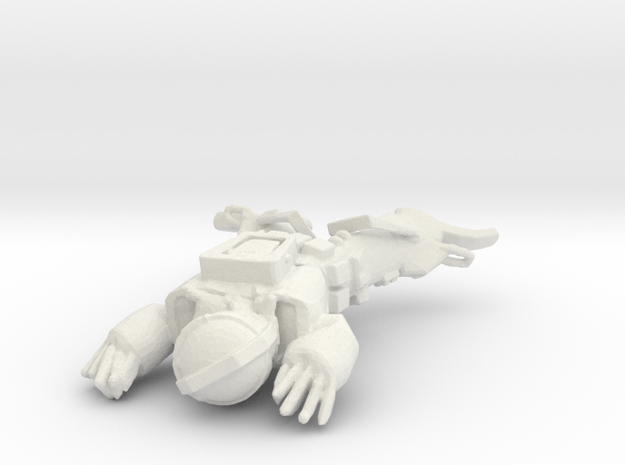 Imperium Guard Dyed Lying in White Natural Versatile Plastic