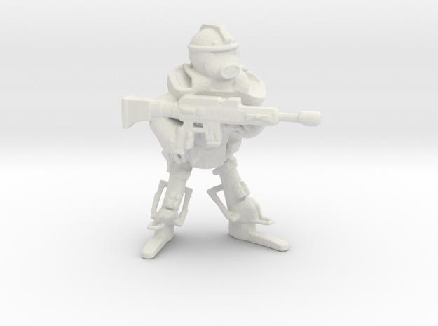 Imperium Guardian in White Natural Versatile Plastic