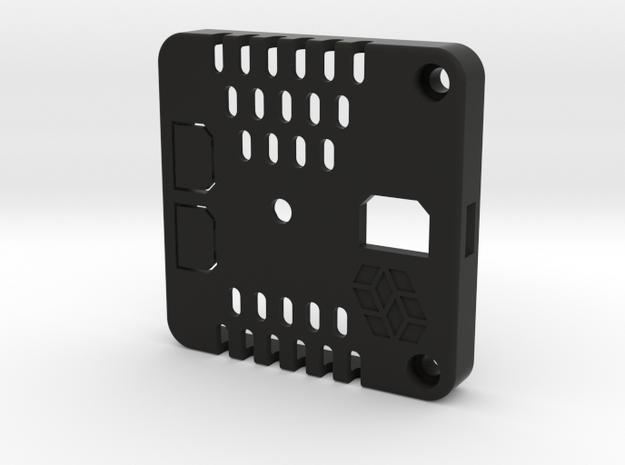 M5 Stack Rear Cover in Black Natural Versatile Plastic
