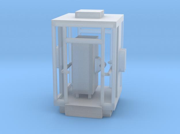 Aufzug Kabine Wien zweiseitig in Smooth Fine Detail Plastic