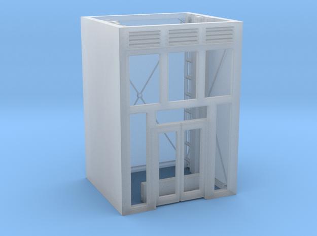 Aufzug Ein- Ausstieg Beton einseitig in Smooth Fine Detail Plastic