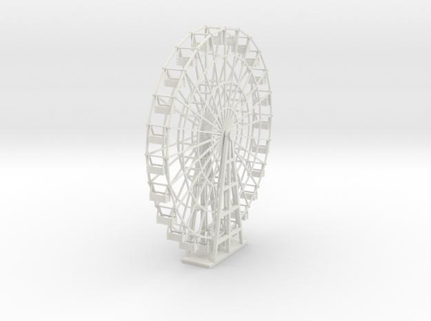 Ferris Wheel - 24 seat - Nscale in White Natural Versatile Plastic