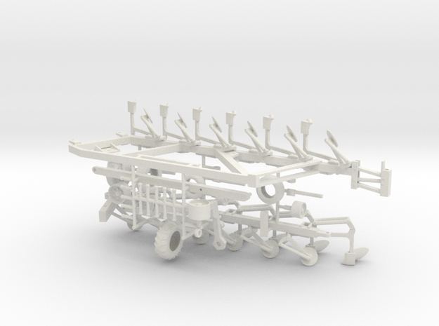 1/50th Salford Tandem Flex-trail Moldboard Plow in White Natural Versatile Plastic