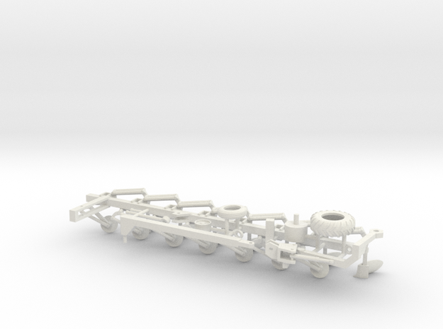1/50th Salford 6200 Vari-Width moldboard Plow in White Natural Versatile Plastic
