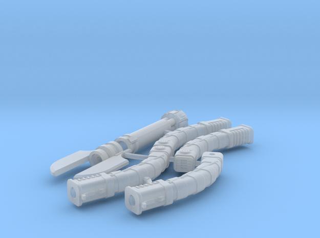 1/6 laser sword parts in Smooth Fine Detail Plastic