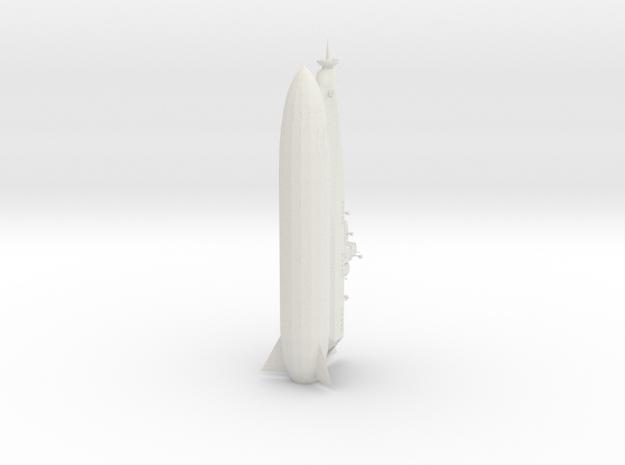 Space Cruiser Santa-Maria in White Natural Versatile Plastic