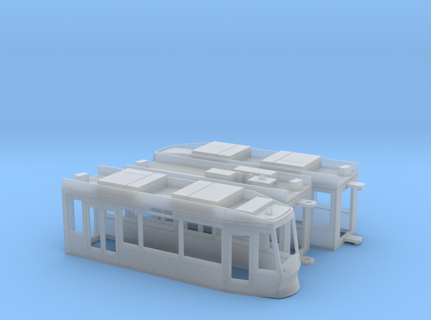 Gera NGT8G in Smooth Fine Detail Plastic: 1:120 - TT