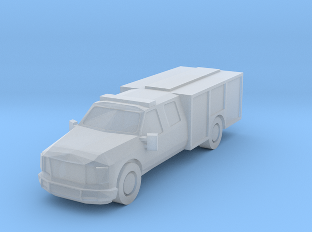 1:350 Ford Light Rescue/Squad in Smooth Fine Detail Plastic