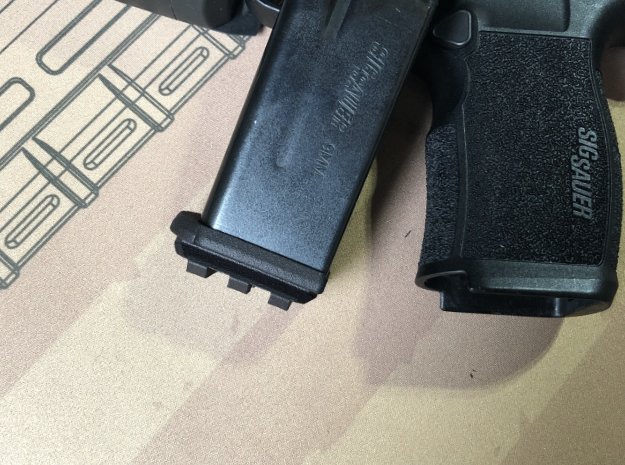 XL-Railed for Sig P365 XL in Black PA12