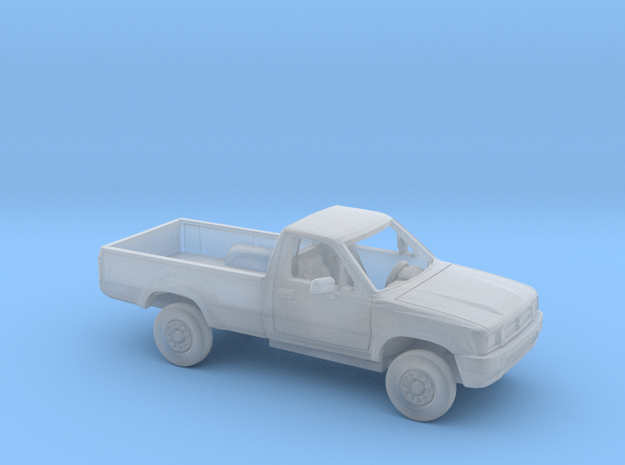 1/43 1988-97 Toyota Hilux Regular Cab Kit in Smooth Fine Detail Plastic