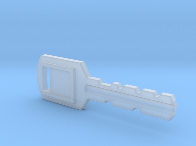 Resident Evil Backdoor Key in Smooth Fine Detail Plastic