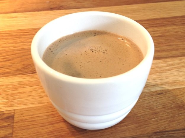 Greek / Turkish Coffee Cup 3d printed perfect brew with foam