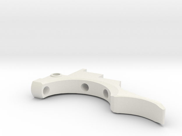 Etha 2 Double Trigger  in White Natural Versatile Plastic