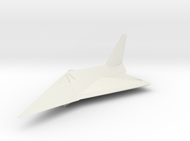 1/300 MBB Lampyridae Stealth Fighter in White Natural Versatile Plastic