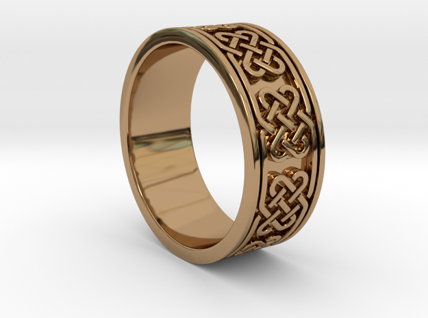 Celtic Ring 3d printed