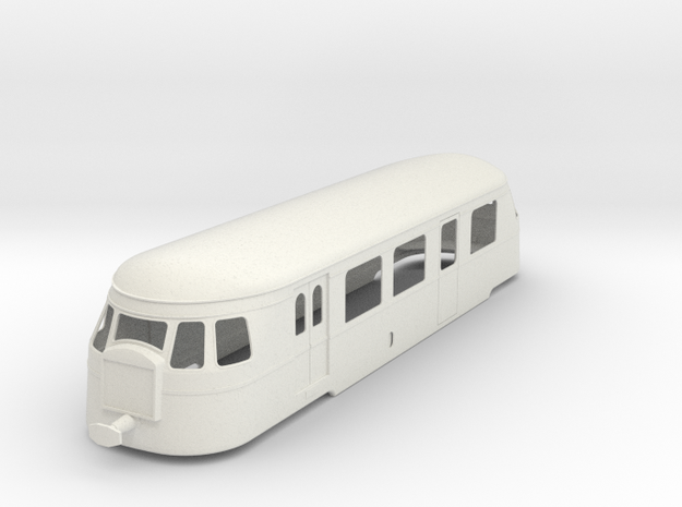 bl22-5-billard-a80d-ext-radiator-railcar in White Natural Versatile Plastic