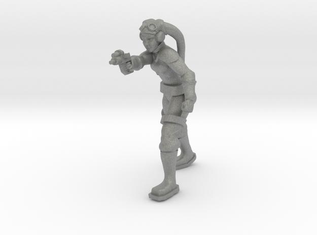 Leela (pose 3) in Gray PA12