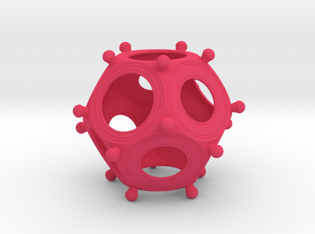 Roman Dodecahedron Small 3d printed
