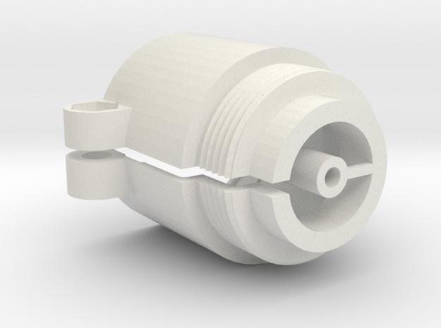 Heizungsadapter in White Natural Versatile Plastic