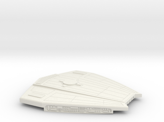 1/1800 Taiho Class Pod Top in White Natural Versatile Plastic