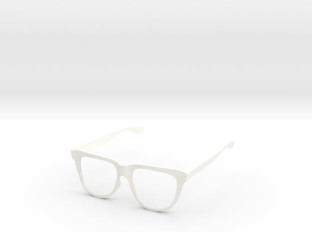 Delight Specs in White Strong & Flexible Polished