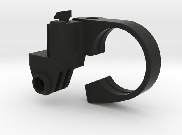 SRM GoPro Handlebar Mount - 31.8mm in Black Natural Versatile Plastic