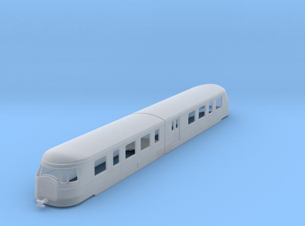 bl120-billard-a150d2-artic-railcar in Smooth Fine Detail Plastic