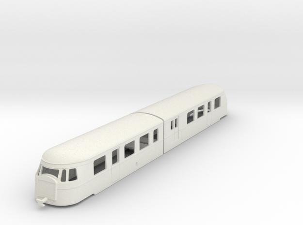 bl100-billard-a150d2-artic-railcar in White Natural Versatile Plastic