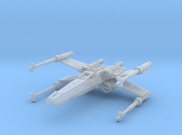 1/350 X-Wing with Open S-Foils in Smooth Fine Detail Plastic