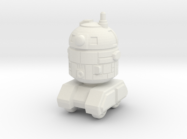 Astrobot 1 in White Natural Versatile Plastic