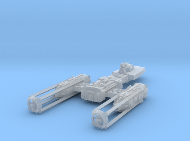 1/350 Y-Wing in Smooth Fine Detail Plastic