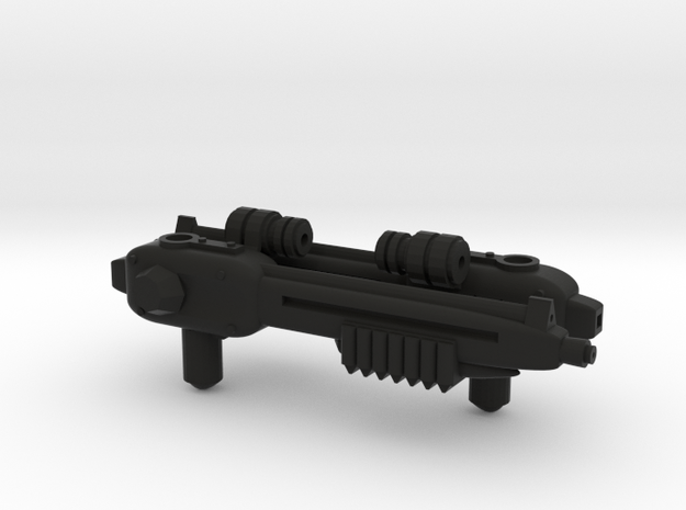 Tremendous Fulcrum-Gogo pair of blasters in Black Natural Versatile Plastic