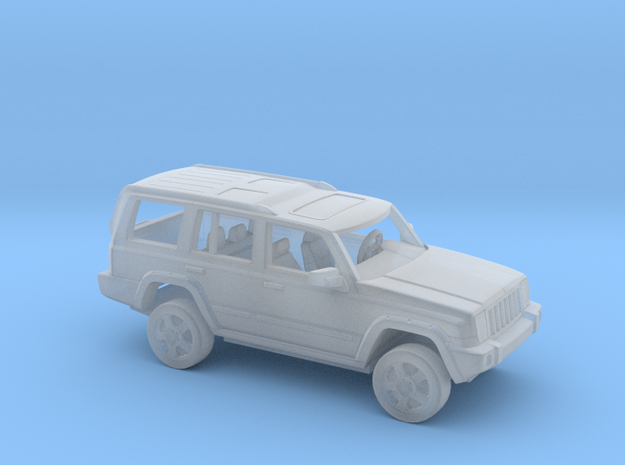 1/72 2010 4Wheel Drive SUV Kit in Smooth Fine Detail Plastic