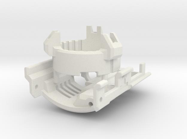 Graflex GMM Chassis - Part15 - Control Panel in White Natural Versatile Plastic