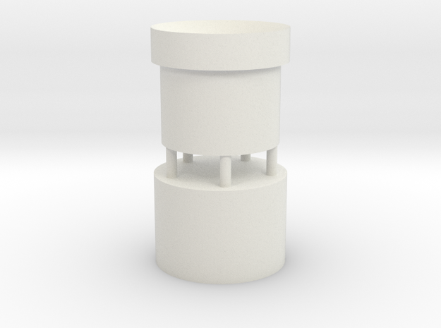 Graflex GMM Blade Holder - Plug Style2 in White Natural Versatile Plastic