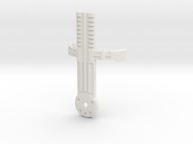Graflex GMM Blade Holder - Switches Cover in White Natural Versatile Plastic