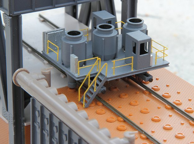 N scale coke larry car in Smooth Fine Detail Plastic