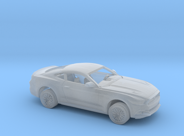1/160 2015 Ford Mustang GT Kit in Smoothest Fine Detail Plastic