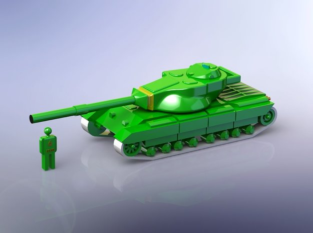 FV214 Conqueror MBT 1/160 in Smooth Fine Detail Plastic